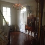 Grand entryway/hallway of the house.