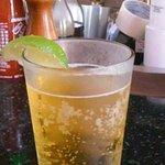 Corona Light w/ Lime Slice