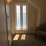 Vue de la chambre et corridor