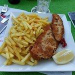 Wiener schnitzel e patate fritte - Wiener schnitzel with french fried