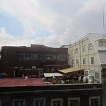 View facing 16 de septiembre - noisy street below