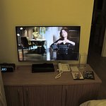 Television in living/dining room