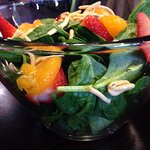 Here is the Prettiest Salad ever.