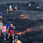 We can help provide directions to see the lava.