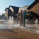Outdoor splash pad