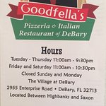 Foto van Goodfella's Pizzeria and Italian Restaurant