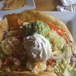 taco salad with chicken