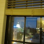 This was the view of the Capitol Building from the soaking tub in the bathroom!
