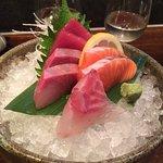 Sashimi appetizer