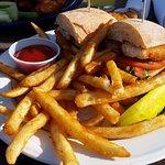Best walleye sandwich ever