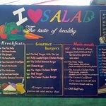 I Love Salad Foto