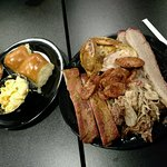 We finished all our food. We will come back to Let's Grub BBQ!!