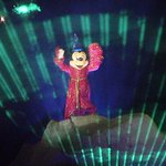 Mickey in Fantasmic