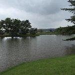 中ノ島と池