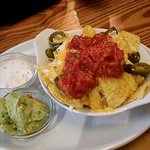 Nachos at the Spotted Cow Elwick