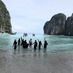 Panoramic view of Koh Phi Phi - shot by Honey