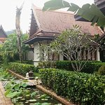 The Thai Style Bungalow from the side,