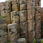 The nearby Giants Causeway (small part of it)