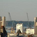 vue sur le pont de Penfeld
