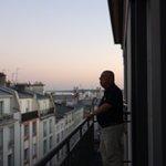 le balcon d'angle au 4 ème