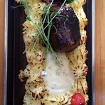 The plank steak, my recommendation!