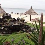 jardin donnant sur plage
