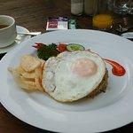 朝食のナシゴレン