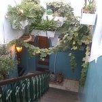 Treppenaufgang zur Dachterasse
