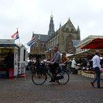 the groet market with the groet kerk