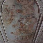 Opravené interiéry zámku VAleč
