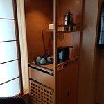Kühlschrank + Kaffeemaschine