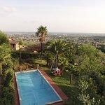 pool 100m away from Villa Sermolli