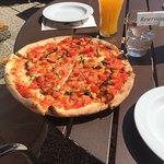 Originalgetreu italienische Pizza