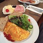 Grosses Zmorge und das Omelette