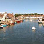 Weymouth harbour plus pubs, restaurants and shops
