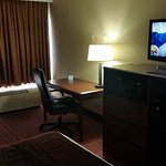 Living area.hd tv with free on demand.very clean room.great stay