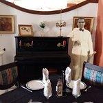 El piano donde García Lorca tocaba con su amiga Ladrón de Guevara - Hotel Espana