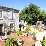 Terrasse jardin de l'Estagnol