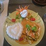 Panaeng tofu