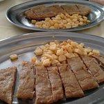 Cachopos del restaurante El Asturiano en Valdelagrana