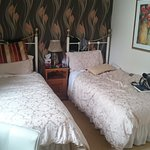 The twin part of the room, very spacious and comfortable