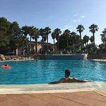 piscina sin aglomeraciones