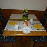 personalisieter Frühstückstisch im Hotel zum Bären