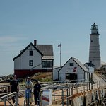 Light keeper and USCG auxiliary
