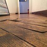 Hazardous flooring