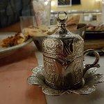 The Turkish Coffee...very cool presentation.