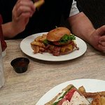 Smokehouse Burger prepared perfectly.