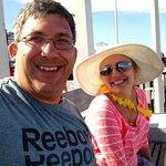 Steven Bonacorsi and Lana at Hampton Beach McGuirk's Ocean View
