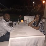 Great food and romantic ambiance!