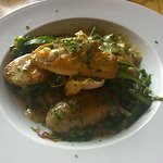 Chicken with stilton hash....beautiful (don't be put off by the mention of stilton, I almost was
